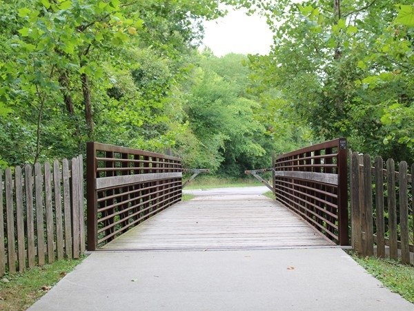 Convenient access from Platte Brooke North to the Line Creek Trail for walking and biking
