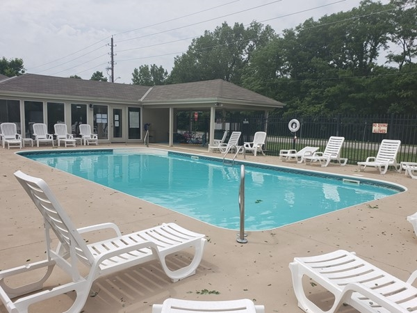 Family friendly community pool in Ryan Meadows
