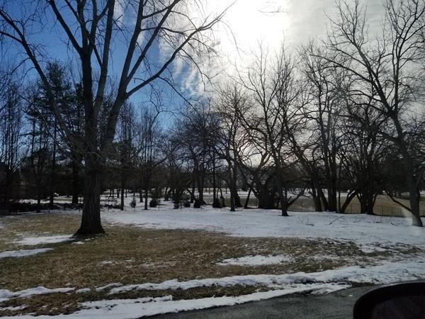 A beautiful yard located in Kansas City, Missouri, near Lakewood Subdivision
