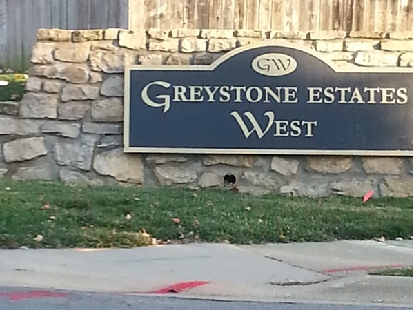 Greystone Estates West in Lenexa KS at 79th and Pflumn Road