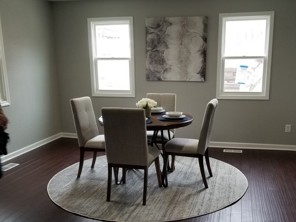 A beautifully remodeled home staged by Staging Dreams