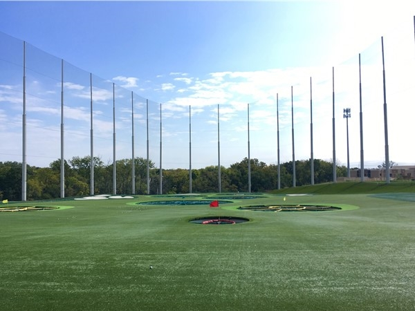 The weather is perfect for a few rounds at Top Golf