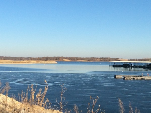 Another sunny, winter day at the Smithville Lake. The weather will be changing this weekend