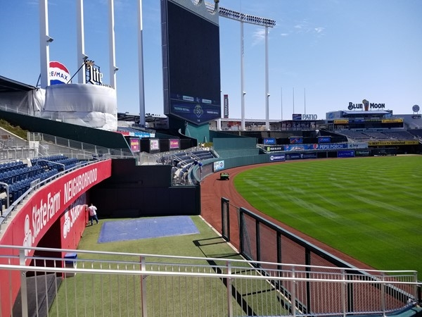Ready for some warmer weather and games at Kaufman Stadium