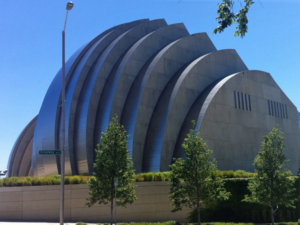 The Kauffman Center - a work of art!