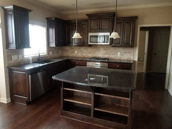 An awesome kitchen at Highland Meadows Subdivision in Lee's Summit