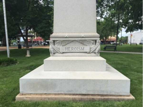 Proud memorial of heroism in Paola