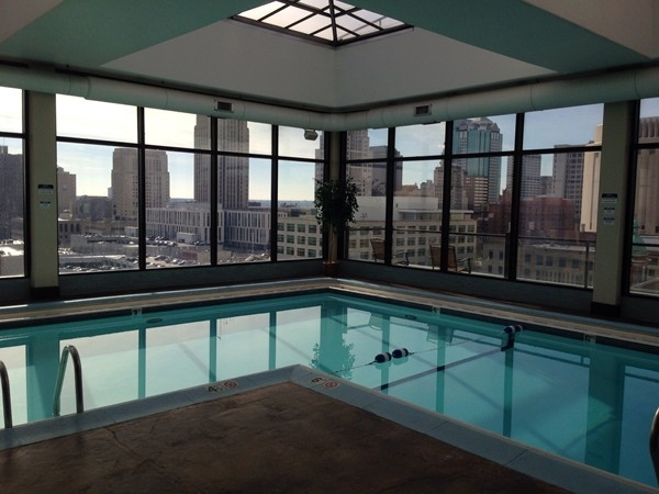 Amazing views from the Manhattan Condo private pool