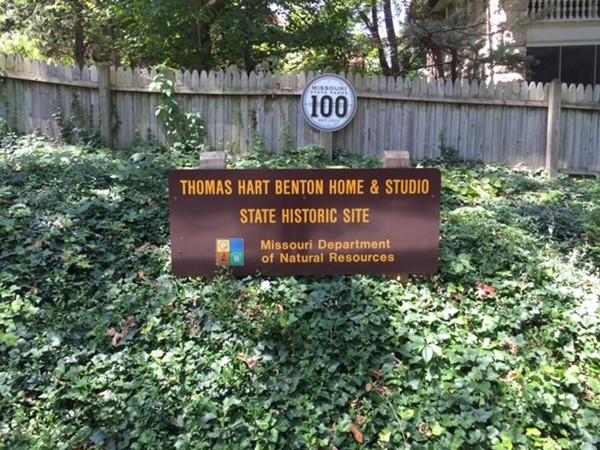 Thomas Hart Benton Home in the Roanoke neighborhood