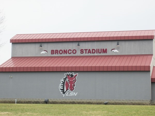 Bronco Stadium at Lee's Summit North High School