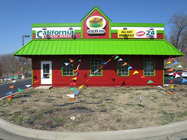 The California Taco Shop is an authentic Mexican food restaurant in Independence