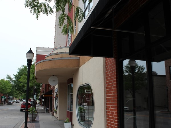 Downtown shops in Lee's Summit
