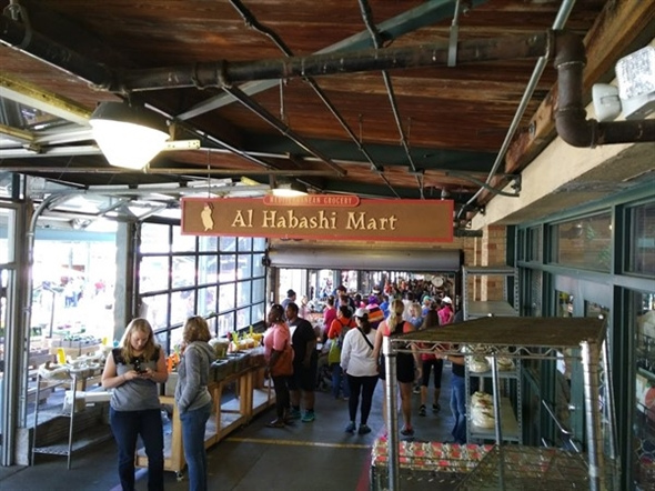 The Al Habashi's run a great grocery and restaurant with amazing gyros and falafel