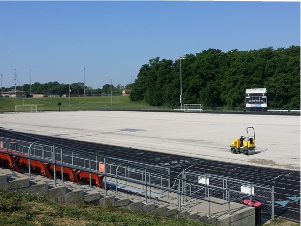 New football field for Platte County Pirates