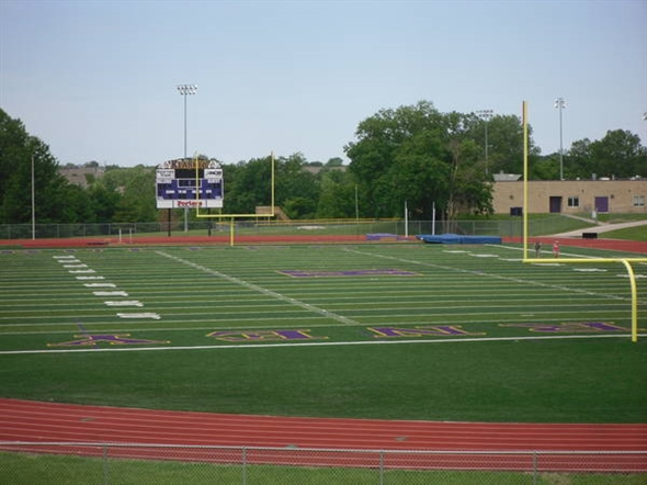 Kearney High School Football field and track