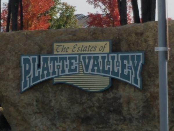 The Estates of Platte Valley is located south of Price Chopper