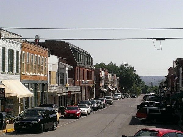 Downtown Main Street, Weston MO