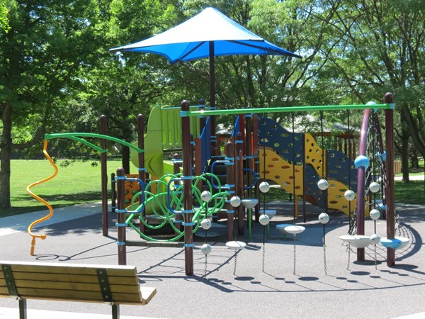 Play area at Haven Park, near the Havencroft Subdivision