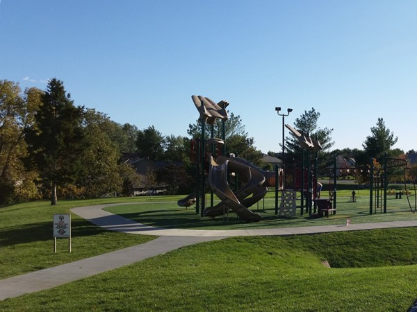 Playground at one of the Lakewood clubhouses