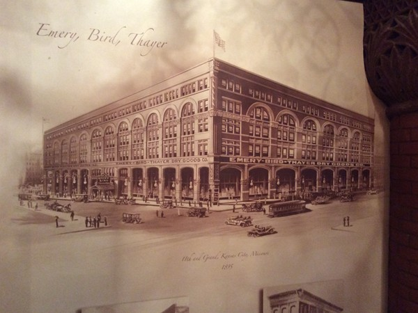 EBT Restaurant was named for Emery, Bird & Thayer - a popular downtown department store