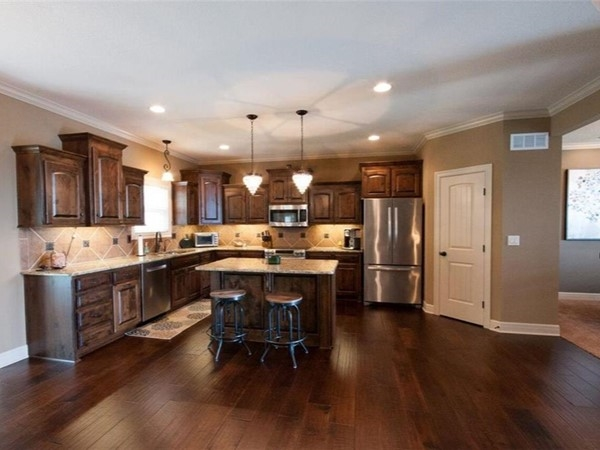 An awesome kitchen at Eagle Creek Subdivision, in Lee's Summit