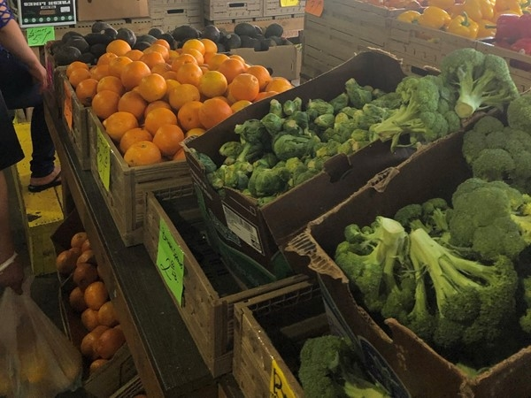 Fresh veggies anyone? You can always find them on Saturday and Sunday at City Market