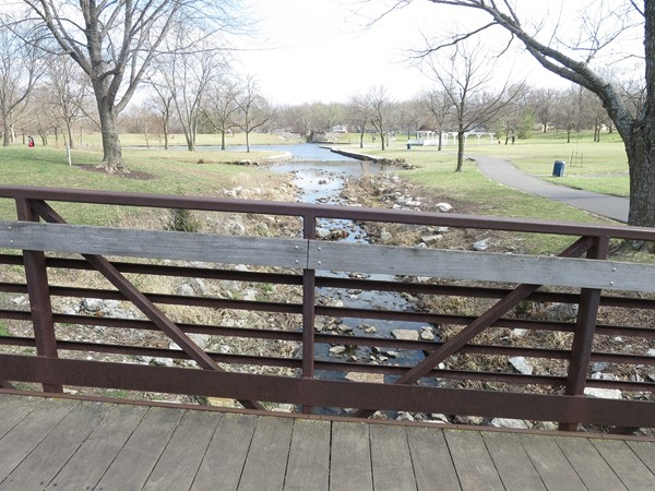 Rotary Park has tennis courts, a beautiful pond, walking trail, playground, etc. Great family park