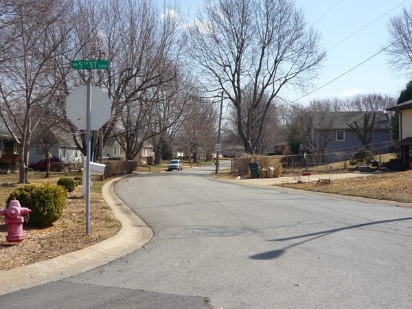 Northwest Meadowview Drive from Northwest 5th Street in Country Club North