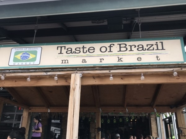 Yumm! Taste of Brazil has great food