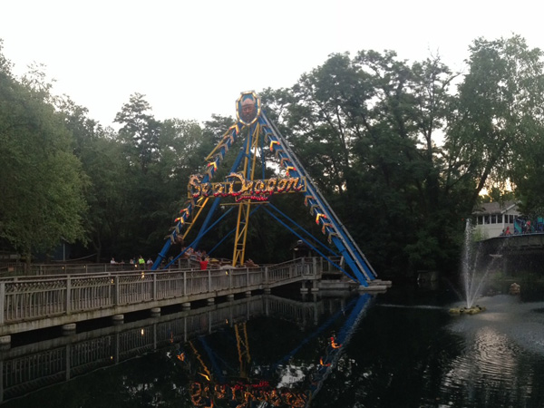 The Sea Dragon at Worlds of Fun: Not just for kids!