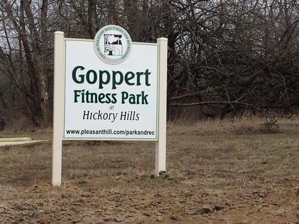Enjoy your own neighborhood fitness park.