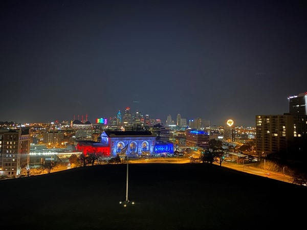 Our beautiful city at night