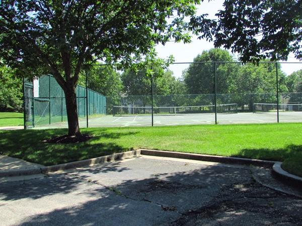 Wilshire tennis courts