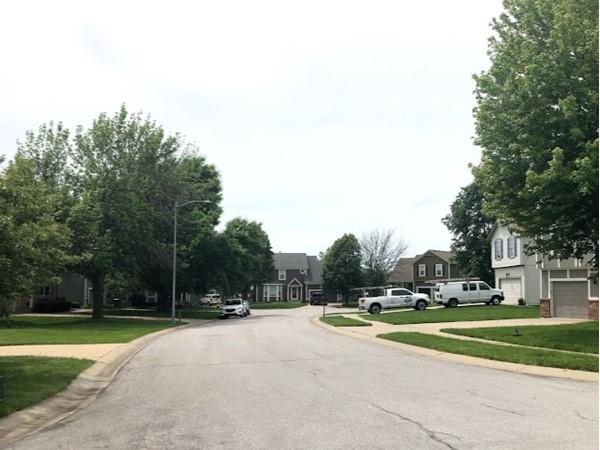 The lovely neighborhood of Brookfield