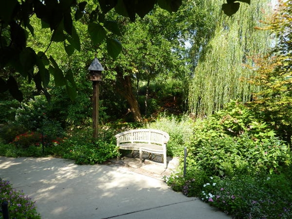 The Woodland Garden at the Overland Park Aboretum