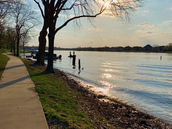 Raintree Lake is one of the best private lakes for fishing in Lee's Summit