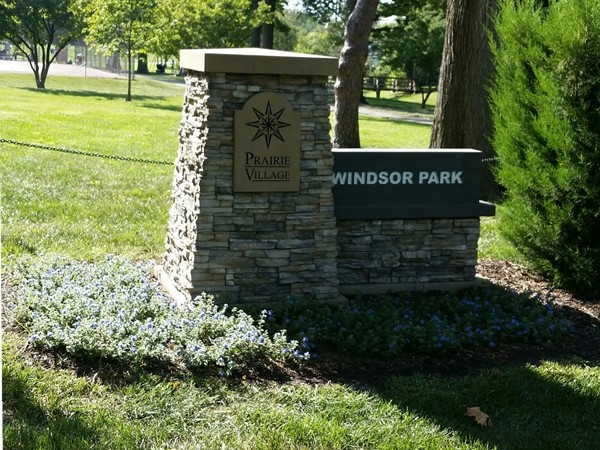 Another one of the great parks in Prairie Village...Windsor Park