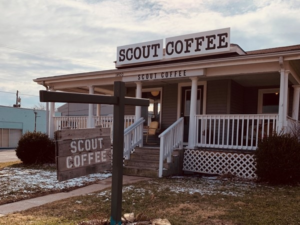 Scout Coffee in Downtown Blue Spring