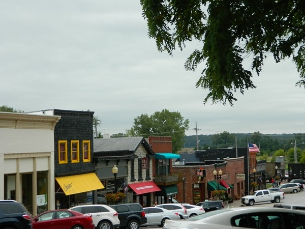 Downtown Parkville has a variety of shops that makes strolling through each one easy