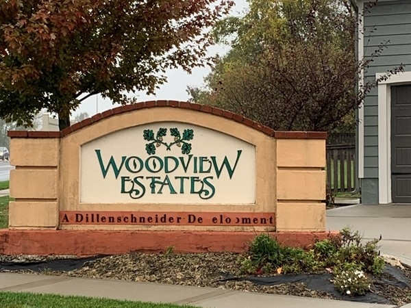Front entrance to Woodview Estates