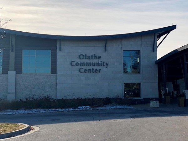 Olathe's Community Center located at Ridgeview Road and Kansas City Road