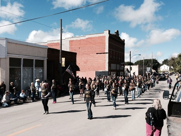 North Platte Band at Pioneer Days Parade