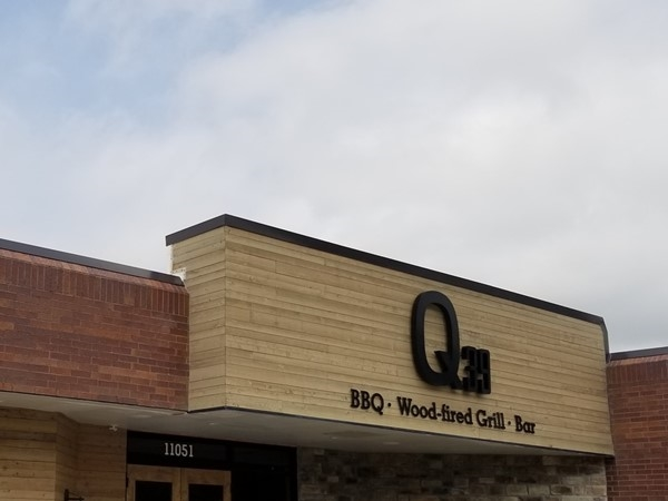 Q 39 in Overland Park, just off of College Blvd. A great place to eat