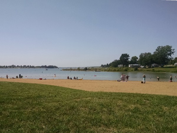 Smithville Lake Beach and Campgrounds