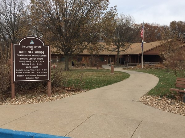 Great time of year to be outside at Burr Oak Nature Center