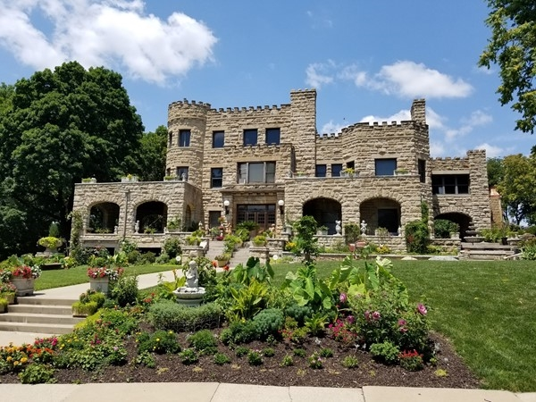 Check out this beautiful castle like home near the Kansas City Museum in Downtown KC