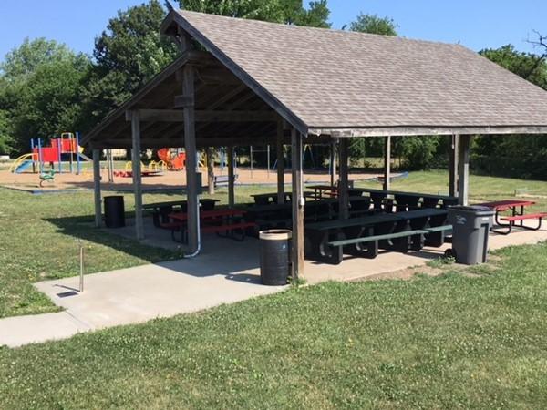 Shelter 1 at Hitt Park