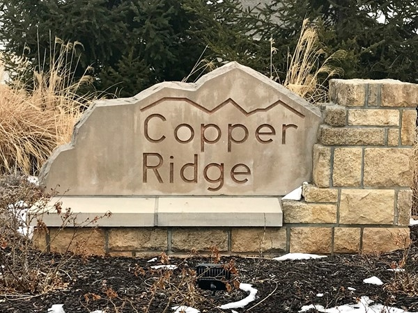 Welcome to Copper Ridge Subdivision