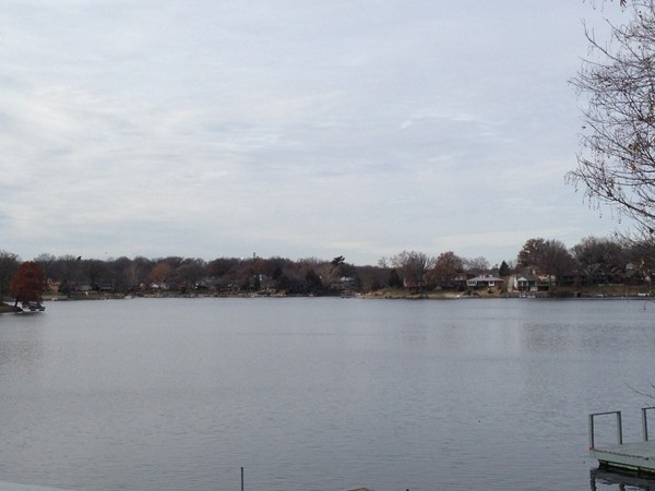 A fine view of Lake Waukomis