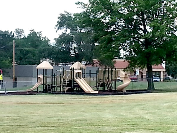 Overland Park Elementary play ground